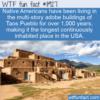 WTF Fun Fact – Taos Pueblo