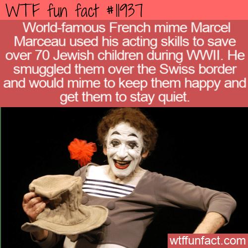 WTF Fun Fact - WWII Hero Mime