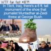 WTF Fun Fact – al-Zeidi's Shoe Monument