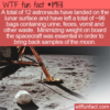 WTF Fun Fact –  96 Bags Of Trash On The Moon