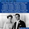 WTF Fun Fact – Christian, Frederick, Christian, Frederick