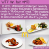 WTF Fun Fact – McGourmet Meals