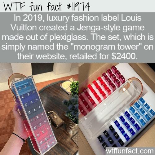 WTF Fun Fact - Monogram Tower