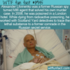 WTF Fun Fact – Spy Solves His Own Murder