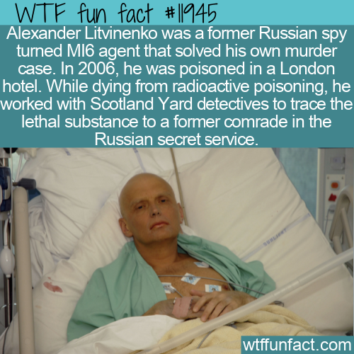 WTF Fun Fact - Spy Solves His Own Murder