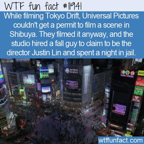 WTF Fun Fact - Tokyo Drift Fall Guy