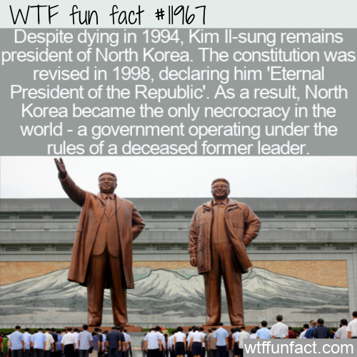 WTF Fun Fact - World's Only Necrocracy