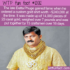 WTF Fun Fact – Gold Shirt Worth A Quarter Of A Million Dollars