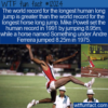 WTF Fun Fact – Humans Jump Farther Than Horses