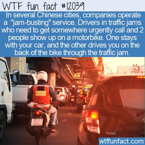 WTF Fun Fact - Jam-Busting