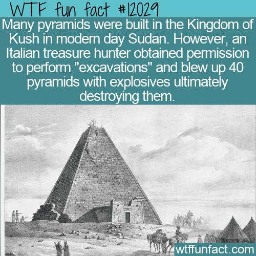 WTF Fun Fact - Pyramids of Meroe