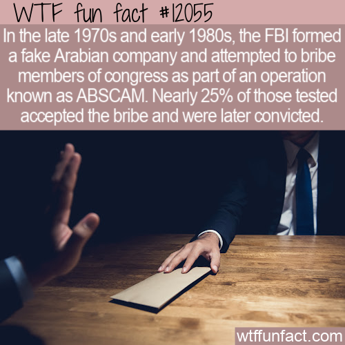 WTF Fun Fact - ABSCAM FBI Operation