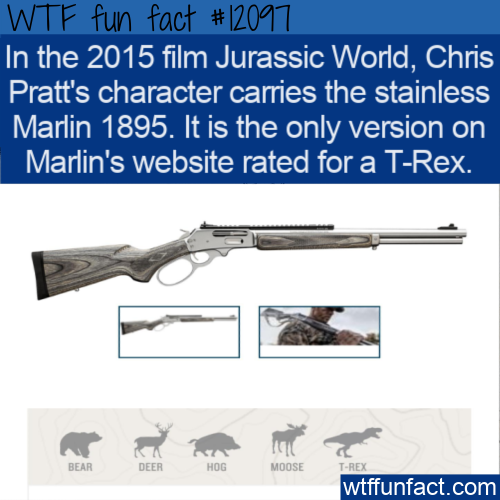WTF Fun Fact - Firearm Rated For A T-Rex