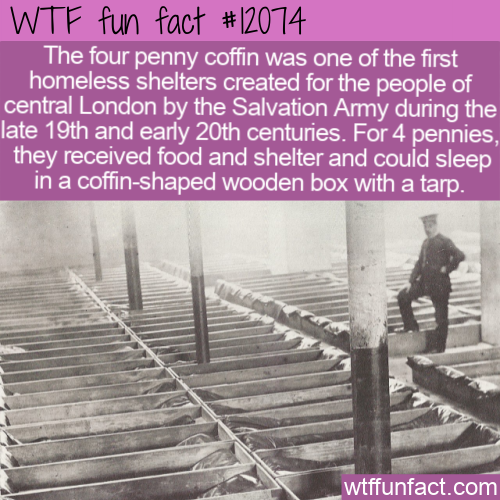 WTF Fun Fact - Four Penny Coffin