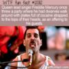 WTF Fun Fact – Freddie Mercury Wild Party