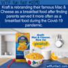 WTF Fun Fact – Kraft Mac & Cheese Breakfast