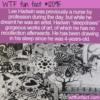 WTF Fun Fact – Sleepdrawer Lee Hadwin