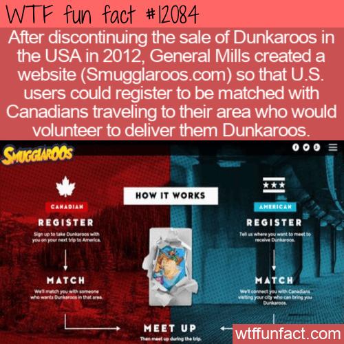 WTF Fun Fact - Smugglaroos Delivering Dunkaroos