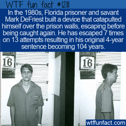 WTF Fun Fact - The Jail Houdini