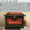 WTF Fun Fact – The Original Cost Of Fahrenheit 451