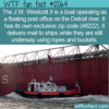 WTF Fun Fact -The US's Only Floating Post Office