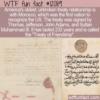 WTF Fun Fact – Treaty of Friendship