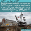WTF Fun Fact – US Navy Forest Of Old White Oaks