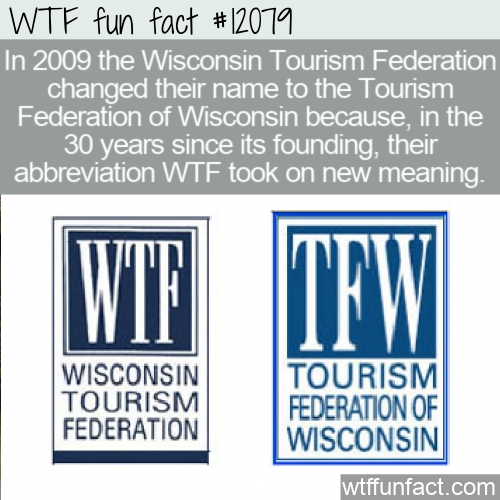 WTF Fun Fact - Wisconsin Tourism Federation Name Change