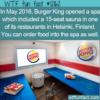 WTF Fun Fact – Burger King Spa