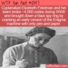 WTF Fun Fact – Codebreaker Elizebeth Friedman