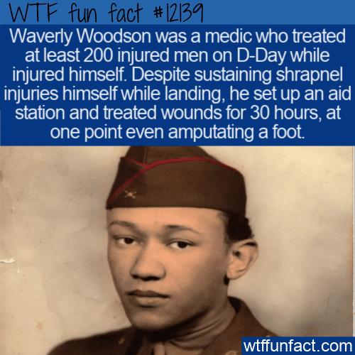 WTF Fun Fact - Heroic Medic Waverly Woodson