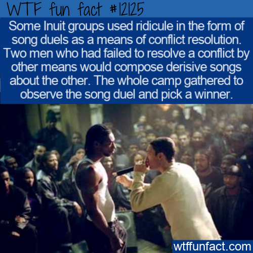 WTF Fun Fact - Inuit Ridicule Song Duel