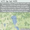 WTF Fun Fact – Lake Pe(i)psi
