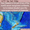 WTF Fun Fact – New Zealand and Zealandia
