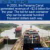 WTF Fun Fact – Panama Canal Revenues