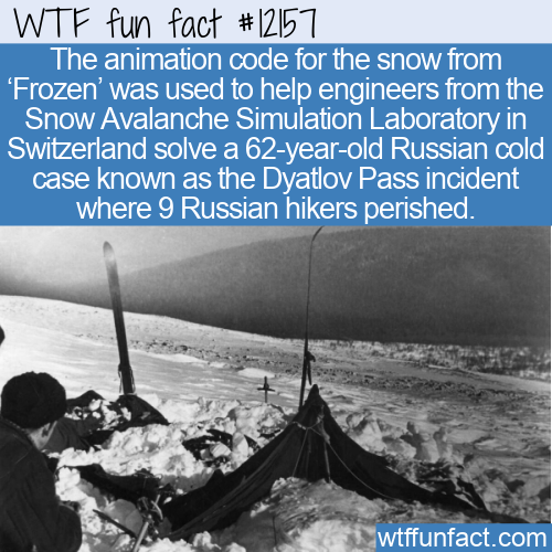 WTF Fun Fact - Snow Animation From Frozen Helps Solve Cold Case