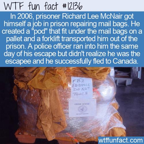 WTF Fun Fact - Unique Escape From Federal Prison