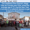 WTF Fun Fact – Villar de Corneja New Years