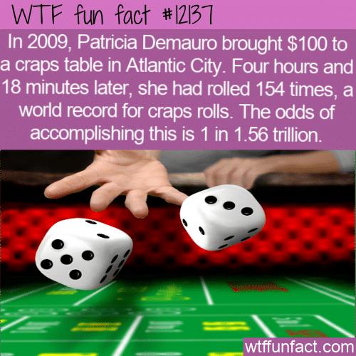 WTF Fun Fact - World Record Crap Roll