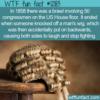 WTF Fun Fact – 1858 US House Of Representatives Brawl