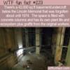 WTF Fun Fact – Beneath The Lincoln Memorial