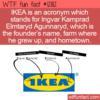 WTF Fun Fact – IKEA Acronym