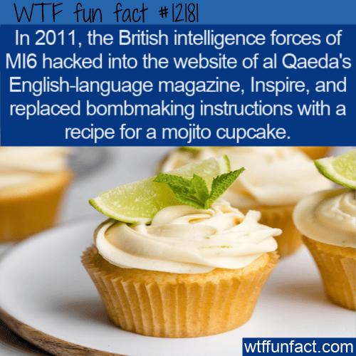 WTF Fun Fact - Inspire's Mojito Cupcake Recipe