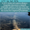WTF Fun Fact – Smuggling Alcohol Via Underwater Pipeline